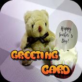 Teachers Day Greeting Card icon