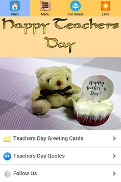 Teachers Day Greeting Card poster