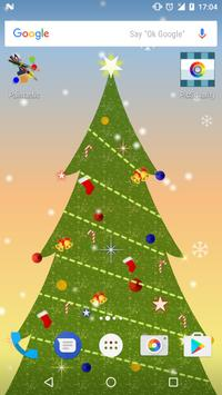 Christmas Tree Live Wallpaper poster