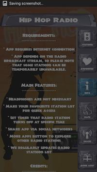 Hip Hop Radio screenshot 11