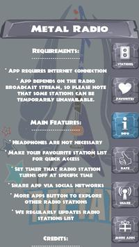 Metal Radio apk screenshot