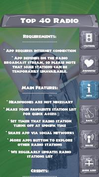Top 40 Radio screenshot 5