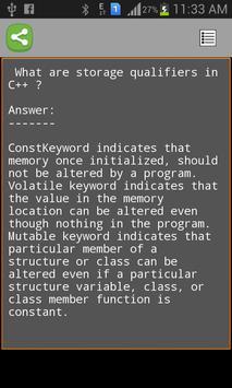 C++ Tutorials screenshot 3