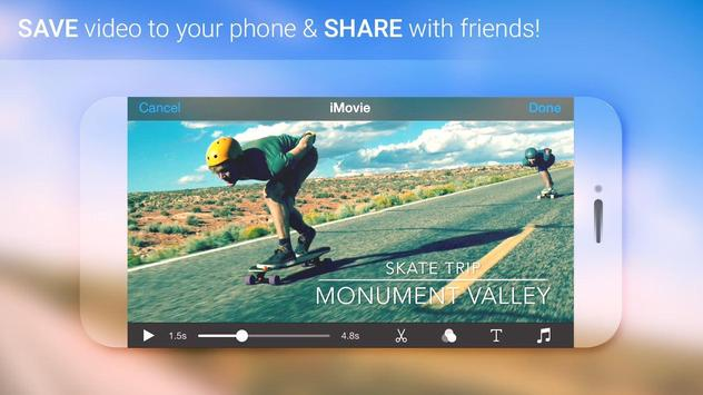 Free iMovie – Edit, Create Videos Easily imagem de tela 3