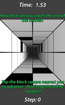 Don't Touch White 3D captura de pantalla 1