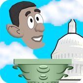 Flapping Obama icon