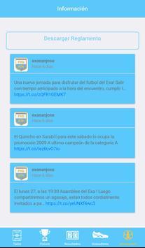 Exa San José Fútbol screenshot 4