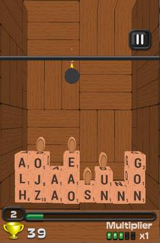 Wordtris 3D apk screenshot
