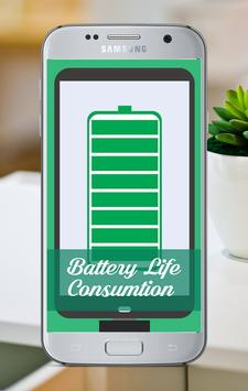 Battery Life Consumption Guide poster