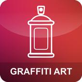 Grafitti art icon