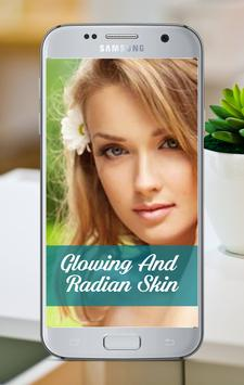 Glowing and Radiant Skin poster
