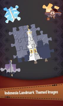 Jigsaw Landmark Indonesia poster