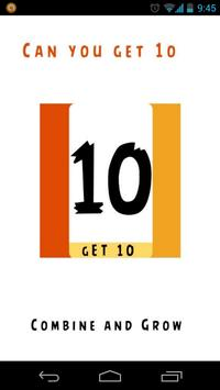 Just Get 10 poster
