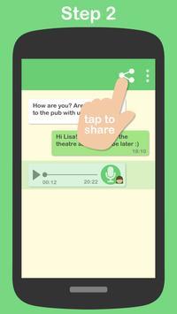 Textr - Voice Message to Text تصوير الشاشة 1