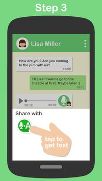 Textr - Voice Message to Text تصوير الشاشة 2