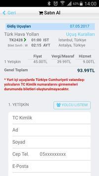 Uçak Bileti Hesaplı Bilet Al screenshot 10