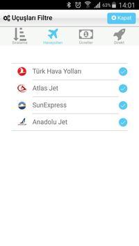 Uçak Bileti Hesaplı Bilet Al screenshot 3