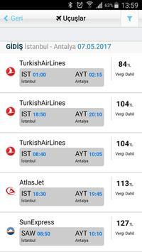 Uçak Bileti Hesaplı Bilet Al screenshot 9