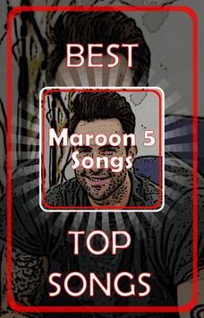 Maroon 5 Songs poster