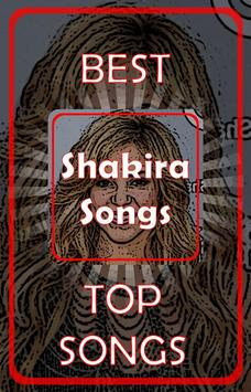 Shakira Songs poster