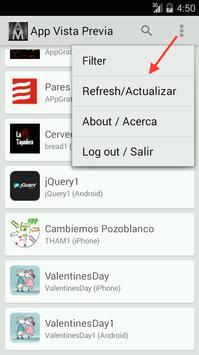 App maker Preview apk screenshot