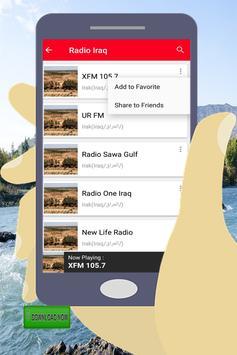 Iraq radio stations screenshot 10