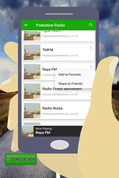 Palestine Radio stations screenshot 10