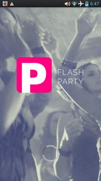 FLASH PARTY poster