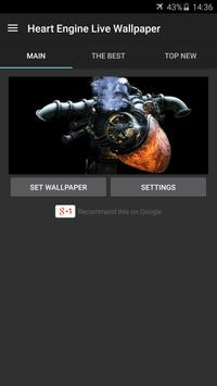 Heart Engine Live Wallpaper screenshot 4