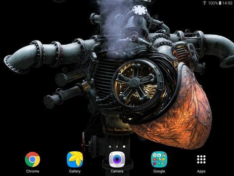 Heart Engine Live Wallpaper apk screenshot