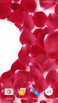Rose Petals 3D Live Wallpaper apk screenshot