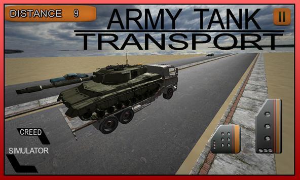 Army Tank Transport Simulator poster