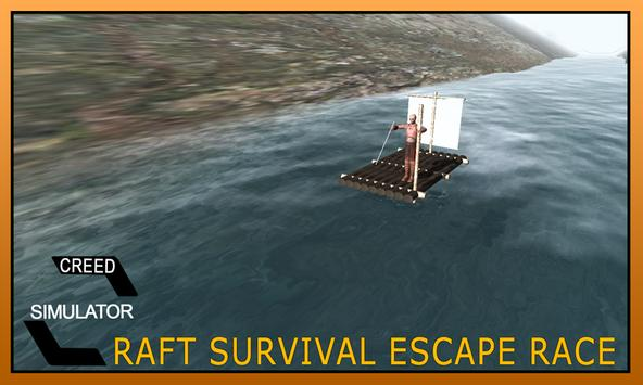 Raft Survival Escape Race Game poster