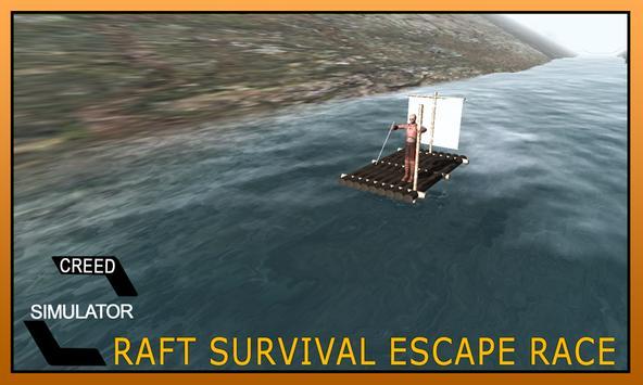 Raft Survival Escape Race Game apk screenshot