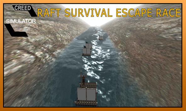 Raft Survival Escape Race Game screenshot 7