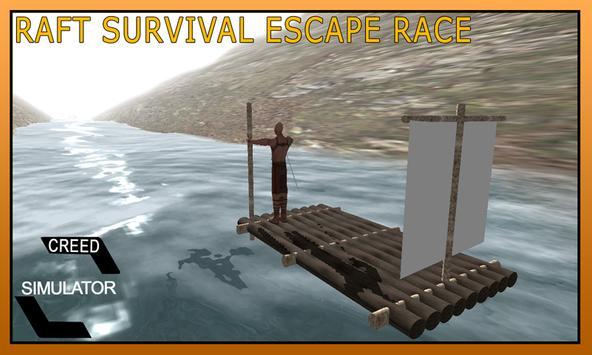 Raft Survival Escape Race Game screenshot 9