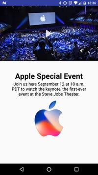 Apple Iphone 8 Event poster