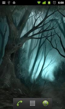 creepy forest wallpaper apk screenshot