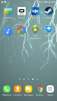 Storm Rain Live Wallpaper apk screenshot