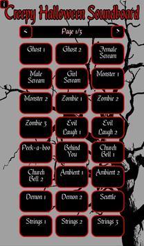 Creepy Halloween Soundboard apk screenshot