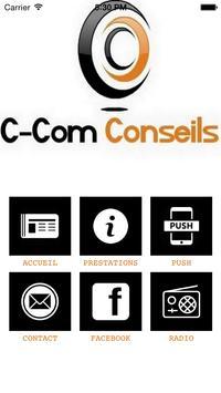 C-Com Conseils poster