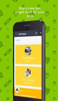 Pet Planet App screenshot 1