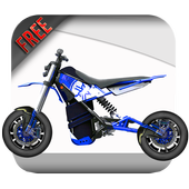 Dirt Bike Game For Kids icon