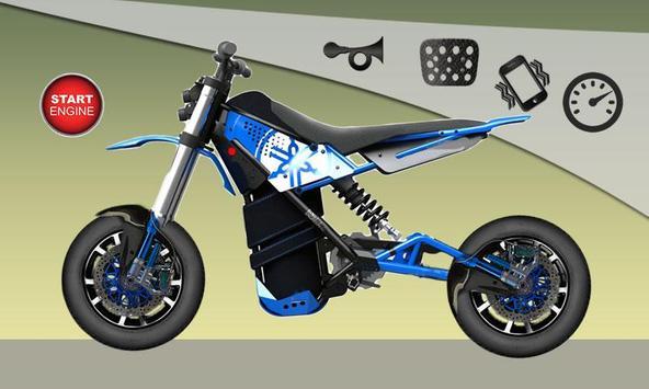 Dirt Bike Game For Kids poster