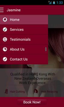 Jasmines Hairdressing Studio apk screenshot