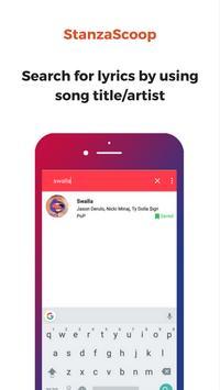 Stanzascoop Lyrics screenshot 1