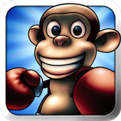 Real Free Monkey Boxing icon
