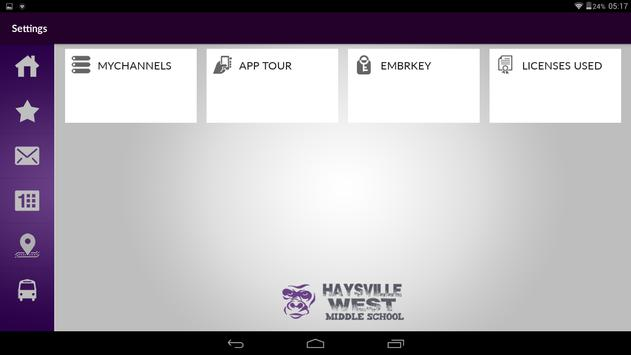 Haysville West Middle School apk screenshot