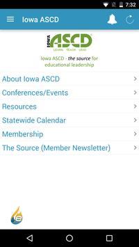 Iowa ASCD screenshot 1