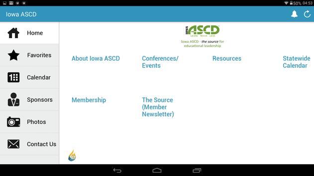 Iowa ASCD screenshot 6